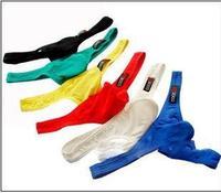 Men's underwear Pure cotton excitation convex fashion U convex pouch Men's sexy thong T pants