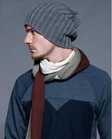 hot fashion unisex men&women winter hats solid autumn Knitted Gorro beanie hat men Warm skullies casual cap
