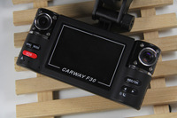 "New 2014 F30 Dual Lens 2.7"" Car Dual Camera Night Vision HD Car DVR Vehicle Black Box Driving Camcorder with SOS button"