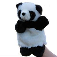 Large Plush Panda Hand Puppet  Cute Dolls Education Toy Christmas Birthday Gift Wholesale Free Shipping
