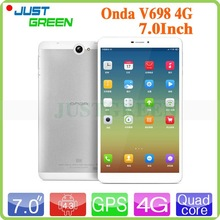 Original Onda V698 4G Tablet PC Marvell 1920 Quad Core 1.3GHz 7 inch 1280×720 IPS 1GB RAM 8GB ROM 8.0MP Phone Call Android 4.3