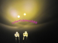 1000pcs, New 1.8mm Warm White Water Clear 12000MCD LED Leds Free Shipping