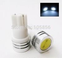 Wholesale Free Shipping 100pcs T10 1w 194 168 Smd High Power Led Car Light Bulbs
