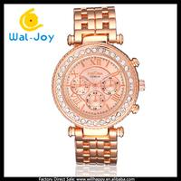 100/lot charming high quality quartz fashion smart women Geneva watches with diamodns(WJ-3194)
