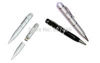 Free shipping 4GB 8GB 16GB 32GB laser pen shape usb flash drive memory stick pendrive