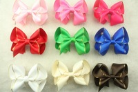 solid bow with gold lace