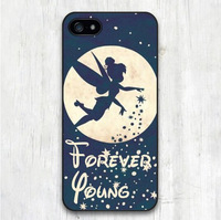 Forever Young Tinkerbell Protective Cover Case For iPhone 6