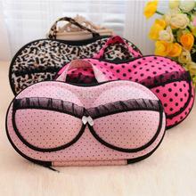 Women Girl Travel Bra Underwear Lingerie Organizer Bag Cosmetic Makeup Toiletry Wash Storage Case Bra Bag Free shipping(China (Mainland))