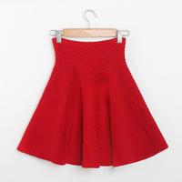 Women Runway Skirt European Style High Waist Ball Gown Ruffles Fluffy Mini Short Women's Skirts