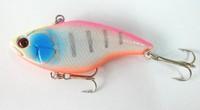 2015 stream carp fishing iscas artificiais new arrival 75mm vib hard plastic lures 7.5cm 18g 6# hooks fishing caret tackle 10pcs