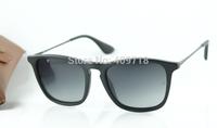 Best Quality Fashion Sunglass Brand Sunglass Men's/Women's Designer 4187 Erika Matte Black Sunglass Grey Gradient Lens Polarized