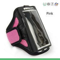 "100pcs/lot Neoprene Mesh Sport Gym Running Armband Arm Belt Soft Case Bag Holder  for iPhone 6 Plus 5.5"" Samsung Note 2 Note 3"