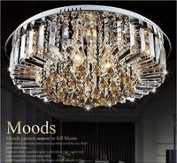 Modern crystal Ceiling Lights  style luxury circular Fashionable sitting room bedroom restaurant bedroom crystal Ceiling Lights