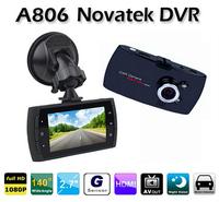 A806 Novatek chipset Full HD 1920X1080P 140 Degree Angle Car DVR With IR Night Vision + Motion Detection + G-Sensor