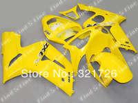 yellow fairingsfor KAWASAKI ZX6R 636 03-04 ZX-6R 2003-2004 6R 03 04 ZX 6R 2003 2004 ABS motorcycle fairing kit