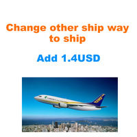Order Over 7USD Change to other ship way to ship add 1.4USD shipment cost