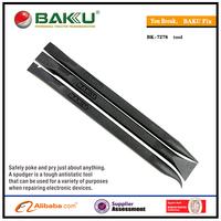 BAKU BK 7278 hot sell New product novel opening tool plastic black pry bar crowbar