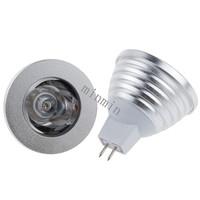 5pcs/lot LED Spotlights with Remote Control High power Bulb Light Lamp CE&RoHS RGB MR16 3w E27/MR16/ Gu10 LED bulbFree shipping