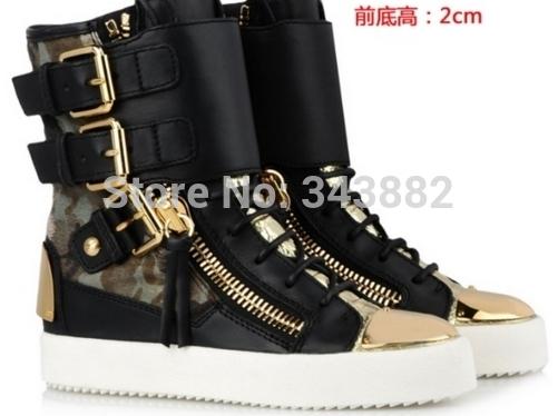 Gz calçados femininos flats sports shoes rodada Toe sola de borracha dentes sola casuais de alta top de renda sapatos baixos sapatos de couro reais cozy(China (Mainland))