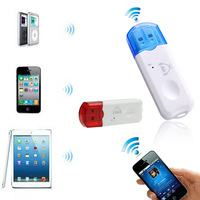 New Arrival USB Wireless Handsfree Bluetooth Audio Music Receiver Adapter Dongle,Wholesale 100pcs/lot Free Shipping