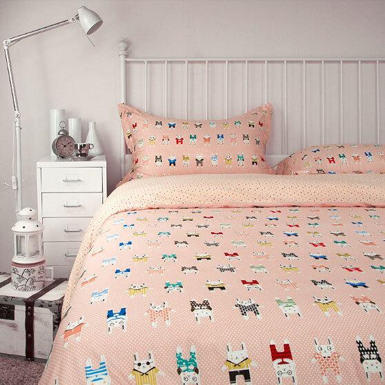 online kaufen gro handel teen animal print bedding aus. Black Bedroom Furniture Sets. Home Design Ideas