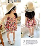 2014 summer girls dress Broken beautiful beach dress holiday special cool fashion dress girl