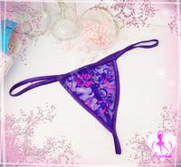 2014 Sexy plus size lingerie underwear pants sexy lace pants multi-color random colors