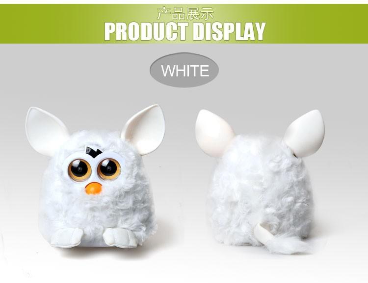 Детское электронное домашнее животное Phoebe Firby Furby Firbi Pelucia new