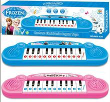 New Christmas Frozen Electronic Organ Piano Keyboard Toy Boxed Ideal Xmas Gift(China (Mainland))