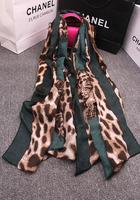 free shipping Fashion z slanting stripe cotton personalized fashion tiger all-match cape scarf