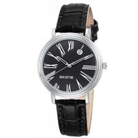 SKONE Brand High Quality Leather Quartz Watch Women Roman Numerals Date Watches