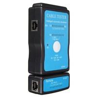 2 pcs/Lot _ USB RJ-45 Cat5 RJ11 RJ12 Ethernet Network LAN Cable Tester Kit