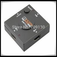 Mini 3 Port HDMI Switch Switcher HDMI Splitter HDMI Port for HDTV 1080P Vedio + Drop Shipping #SW001