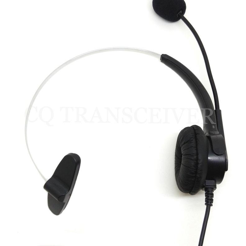 CQtransceiver Telephone Earphone Headset RJ9 Plug Single Sided for Polycom SoundPoint IP Phone 501 550 600(China (Mainland))