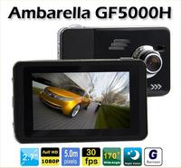 GF5000H Ambarella A2S70 Recorder 2.7' LCD 170 Degree Wide Angle car dvr full hd 1080p