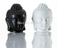 Будда керамика эфирное масло горелки, Греющая свеча горелки, Аромалампа