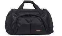 Classic black 1680D nylon oxford water proof  durable duffel bag sports bag travel bag weekender bag