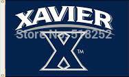 NCAA Xavier Flag 3x5 FT 150X90CM Banner 100D Polyester flag 1039, free shipping