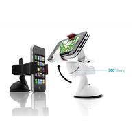 Car Windshield Stand Mount Holder Bracket for mobile phone/GPS/MP4 Rotating 360 Degree Car phone holder