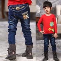 2015 Child PORT JEAN Chirldren boys girls Denim Pant Fashion Long boys jeans