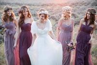 Elegant new Bridesmaid Dresses 2015 new Long Bridesmaid Gown Convertable Bridesmaid Dresses Style DIY Your Favorite Dress H513