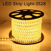 5pcs/lot 5M ChristmasNon Waterproof 3528 RGB LED Strip Light 24/44key RGB Remote Control + 12V 2A Power Supply(EU/US/AU plug)
