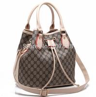 Vintage desigual bolsas femininas women's fashion casual brand cow genuine leather Handbags bucket ys messenger bags