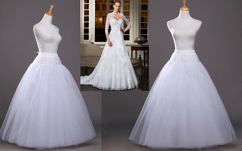 Wedding Dress A Line Hoop