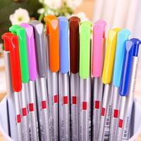 12 Pcs/Lot Gel Pen DIY Creative Stationery Albums Gift material escolar Candy Color Pens School Supplies Caneta papelaria 7002