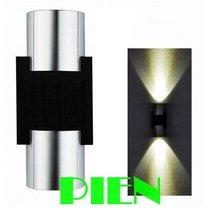 Modern LED wall lamp UP Down sconce luminaria light 2W bathroom Hall porch deco. 8AV-265V Free shipping 1pcs(China (Mainland))