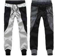 Free shipping Casual Baggy Pants for Men with Large pocket  Fashion Cool Harem Zipper Pocket Design Black Gray Size M-XXL #ZJJ93