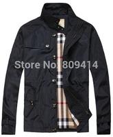 2014 Fashion Brand men jacket autumn leisure sport winter British coat  wear jackets blaze homens jaqueta Free Shipping