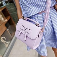2014 trend fashion candy color bow shoulder bag cross-body handbag female bag small