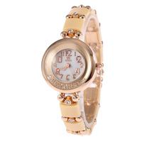 Christmas Sale Women Luxury Ceramic Quartz Watch Bling Diamonds Bracelet Watch Free Shipping